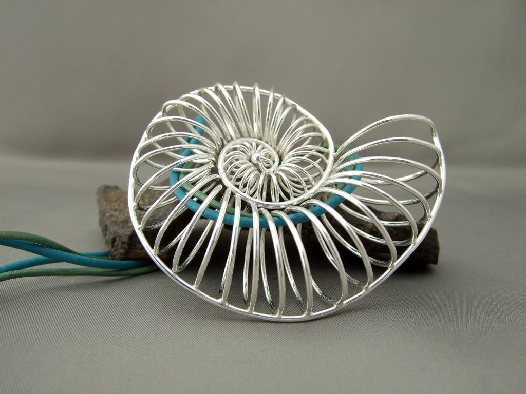 Sterling Silver Seashell