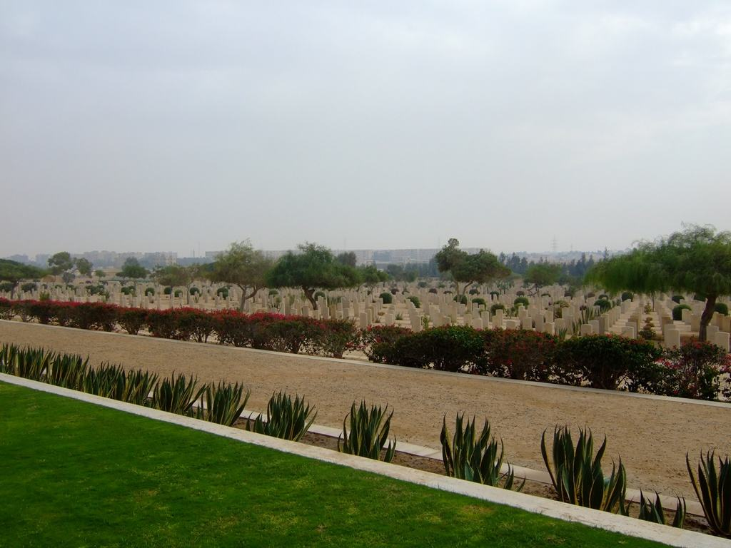 El Alamein Commonwealth War Cemetery