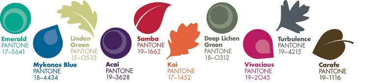 Pantone Autumn 2013 Colours