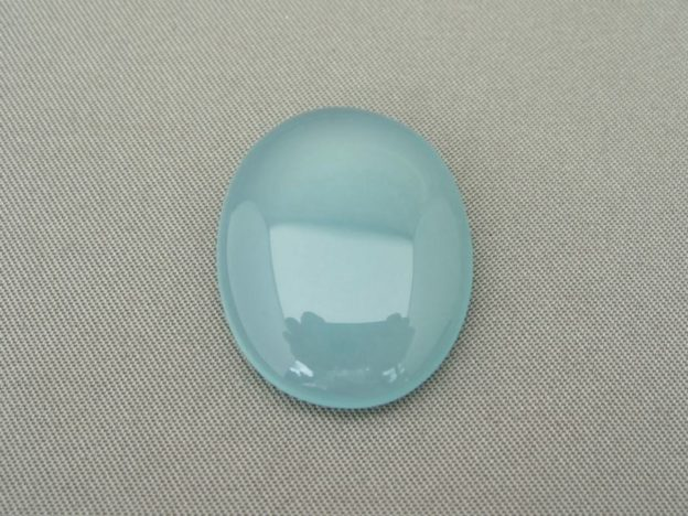 Blue Chalcedony Cabochon