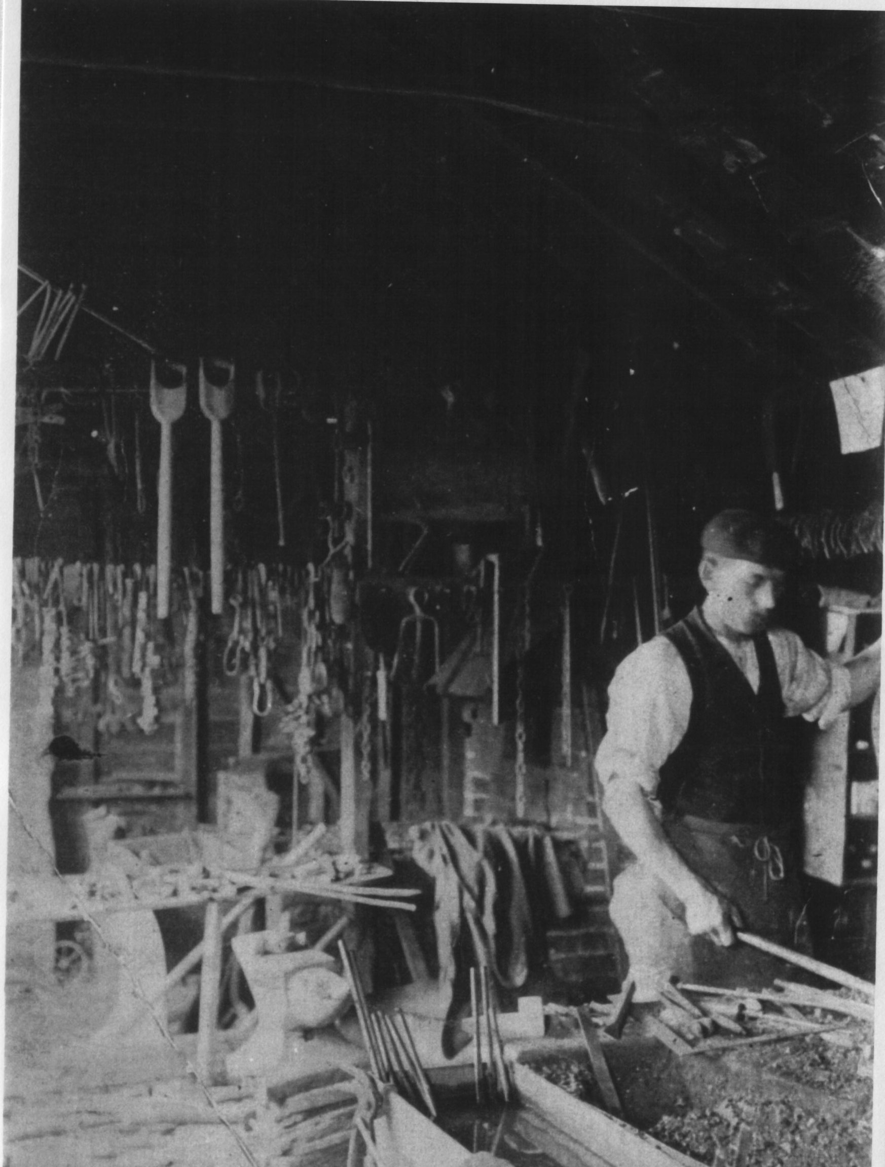 Horton, William (Bill) -  in the Forge, Brede, Sussex