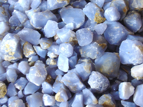 blue chalcedony | The Silver Forge