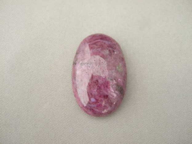 Ruby Zoisite Oval Cabochon