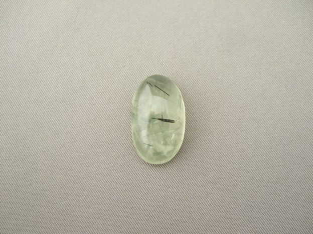 Prehnite Oval Cabochon With nclusions