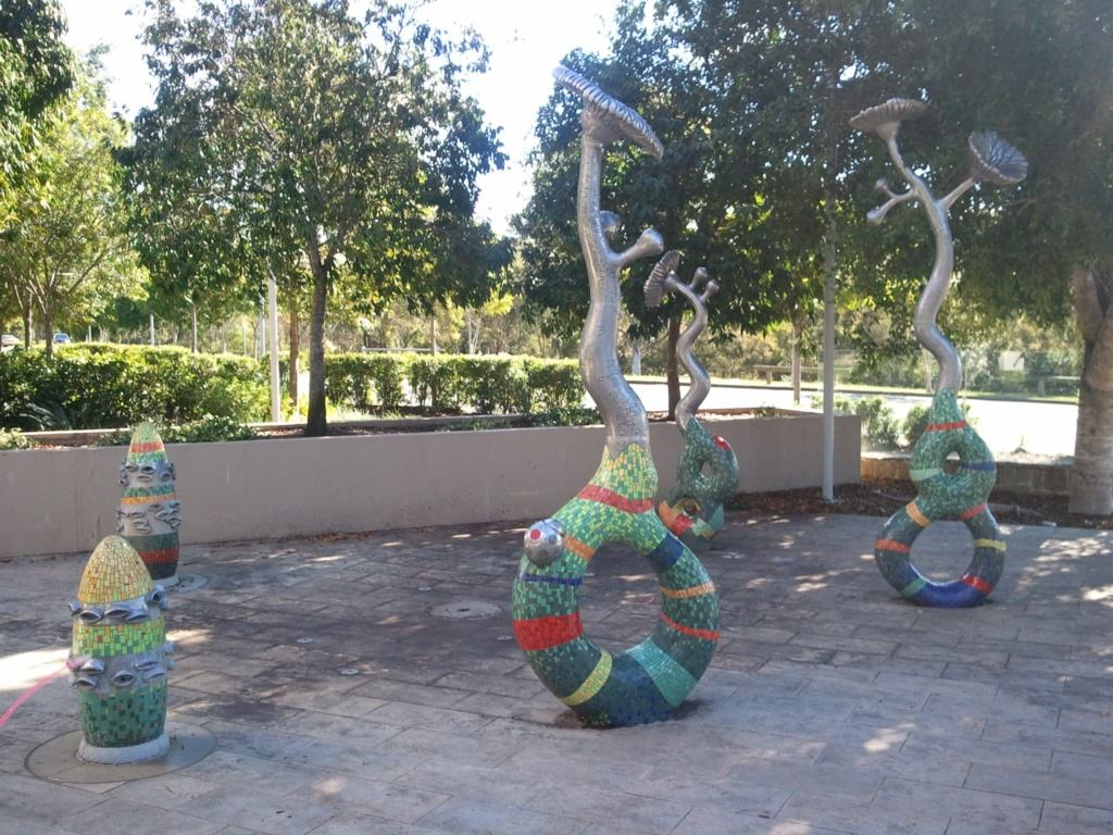 Sculpture at Chermside