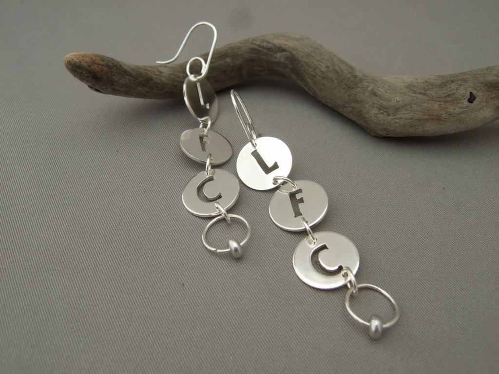 Sterling Silver Liverpool Football Club Dangle Earrings
