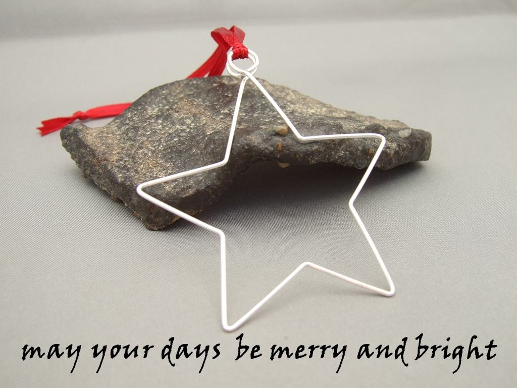 Merry and Bright Christmas Star
