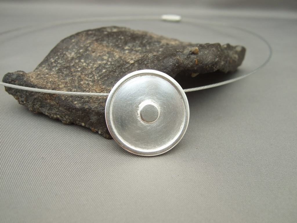 Sterling Silver 'Gone Home' Pendant