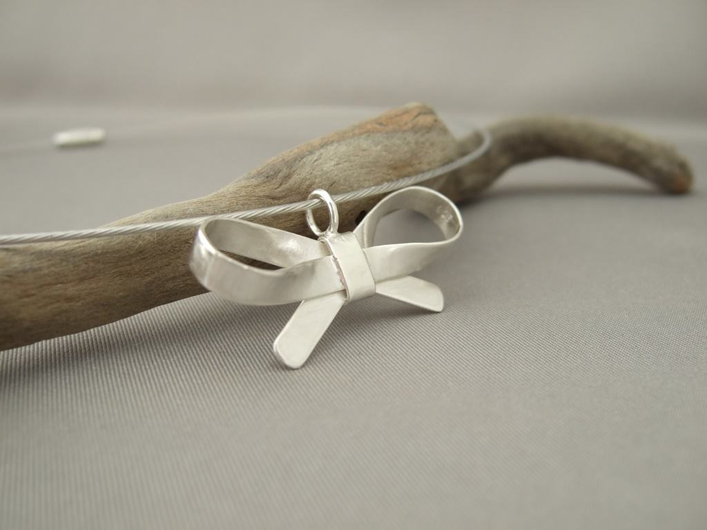 Sterling Silver Bow