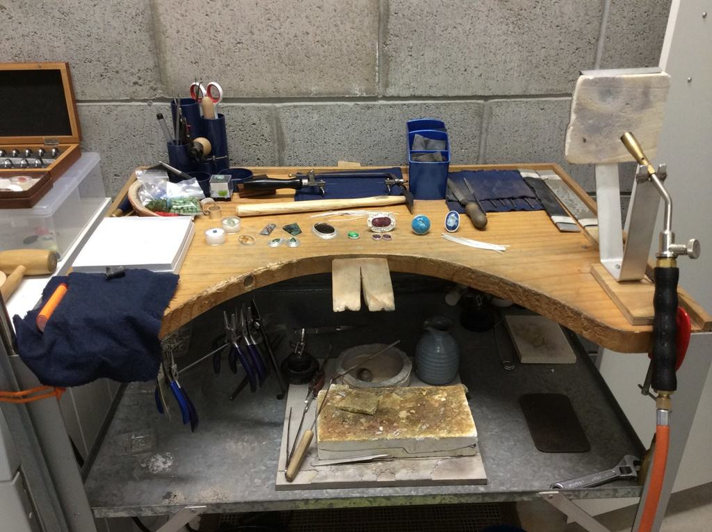Ruthie's Jeweller's Bench