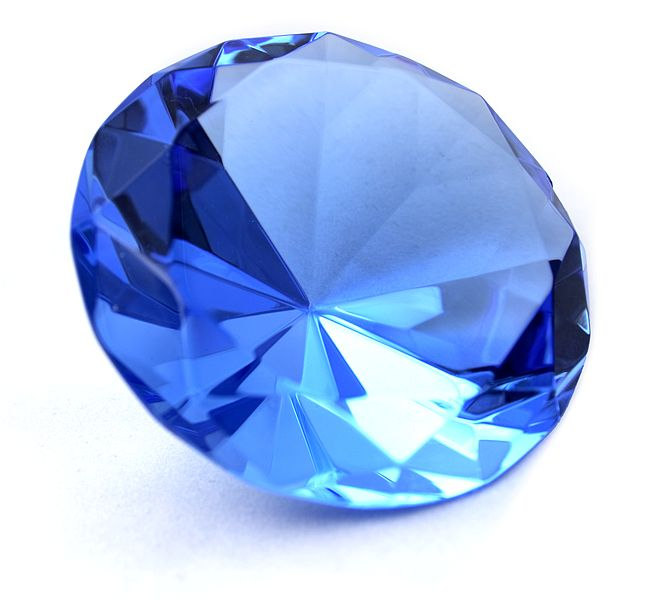 Sapphires can be subject to Lattice Diffusion (photo credit Sapphiredge)