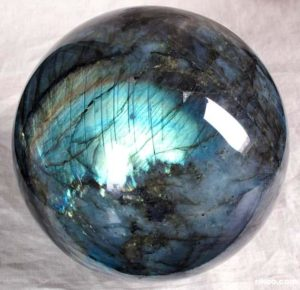 Labradorite Crystal Ball (photo credit Rikoo)