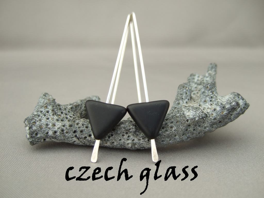 Earrings - Czech Glass
