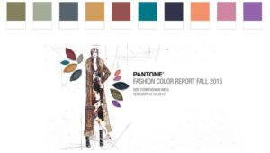 Pantone Autumn 2015 Colours