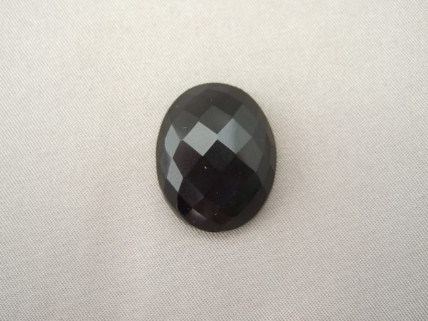 Medium Black Onyx Checkerboard Cabochon