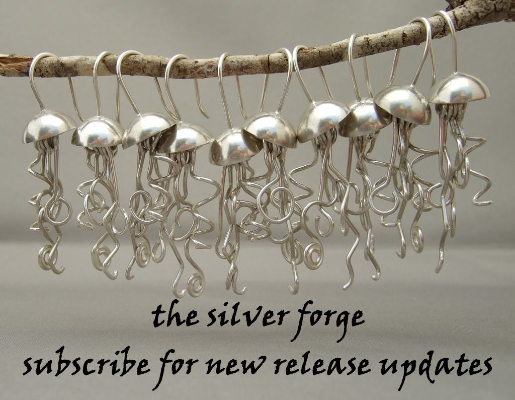 Jellyfish Earrings Subscribe to New Release Update Banner