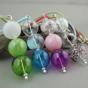 Vertical Bubble Trio Pendant Group