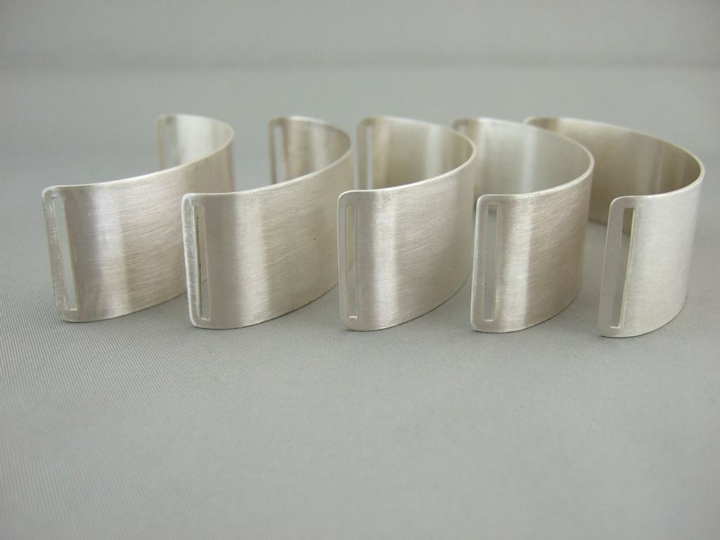 Sterling Silver Palm Wrap Bracelets