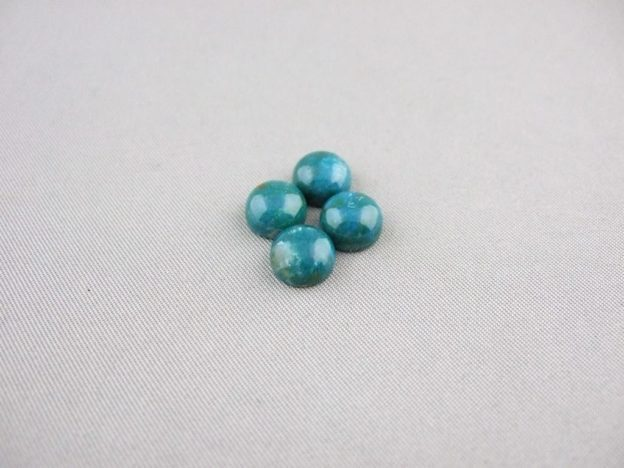 Chrysocolla Cabochons (8mm Round)