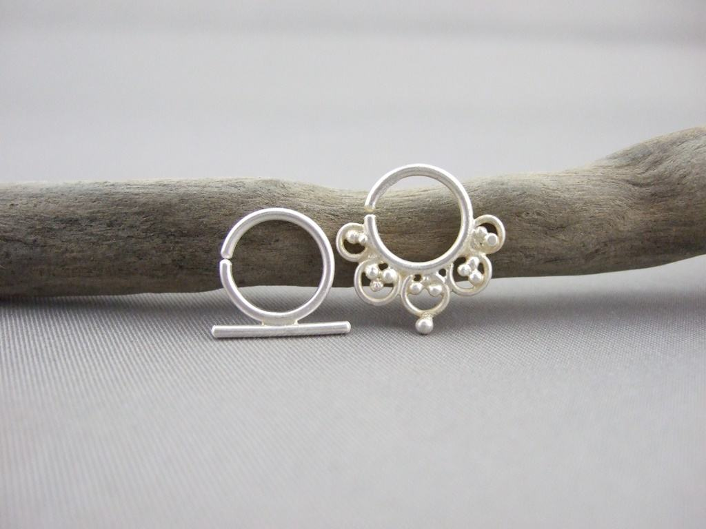 Sterling Silver Septum Rings