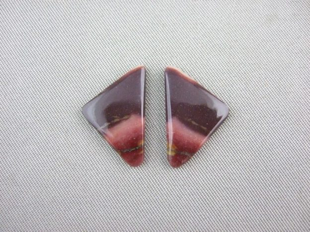 Mookaite Triangle Cabochons