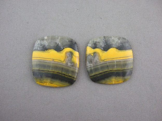 Bumblebee Agate Cabochons