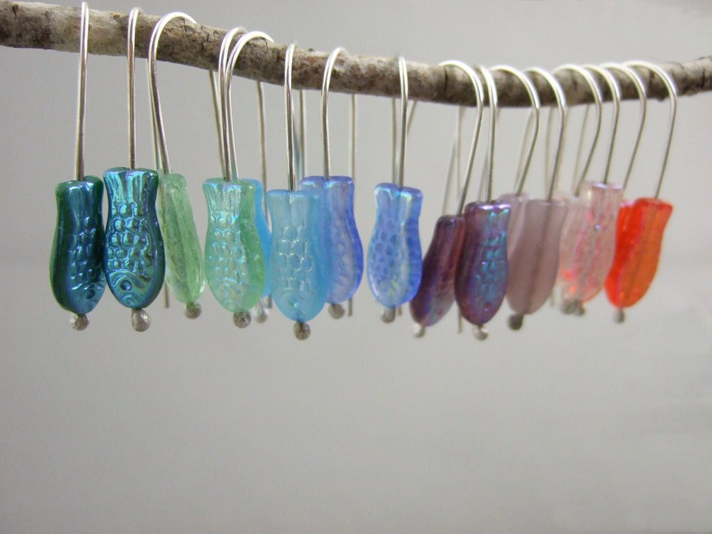 Fish Earrings Collection